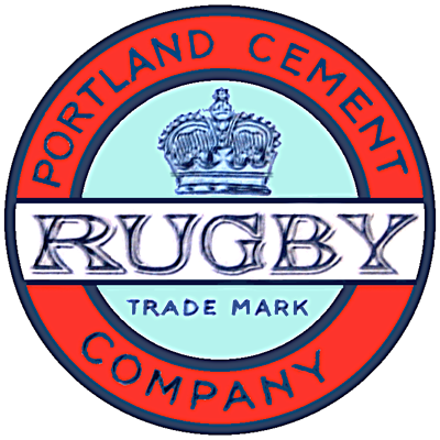 Rugby cement logo