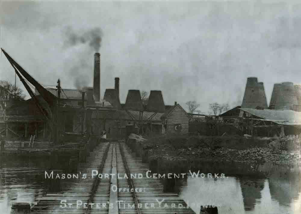 Waldringfield cement plant 1905