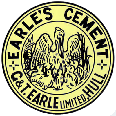 G & T Earles Wilmington Hull Pelican Brand cement logo