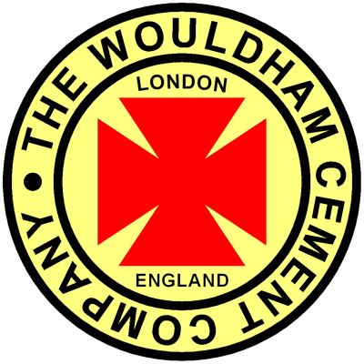 Wouldham West Thurrock Maltese Cross Brand cement logo